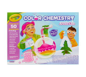 Arctic Color Chemistry Lab Set Front View