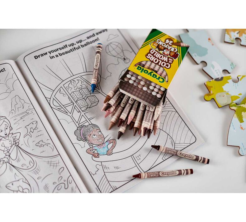 Colors of the World Coloring Book, 48 Pages