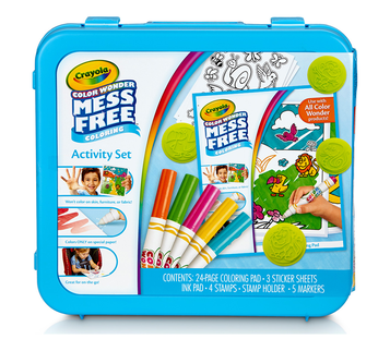 Color Wonder Mess Free Activity Set Front View