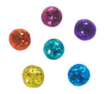 Glitter Dots, Tropical Colors, 42 Count Front View of Package