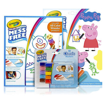 Color Wonder Mess Free Peppa Pig Gift Set