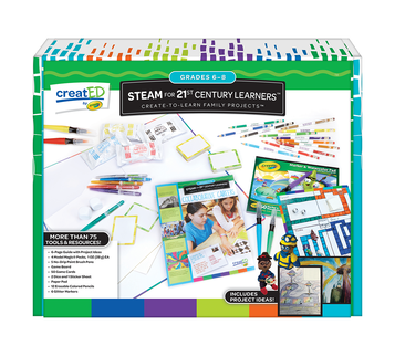 creatED® Family Engagement Kits, Moved by Math: Grades 6-8: Unplugged Coding Front View