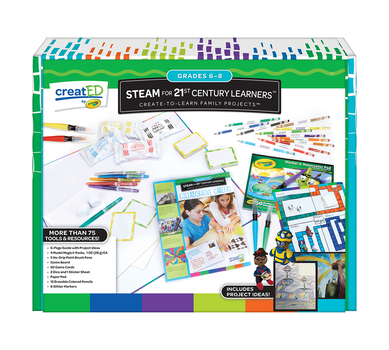 creatED® Family Engagement Kits, STEAM for 21st Century Learning: Grades 6-8: Collaborative Careers, 30 Count