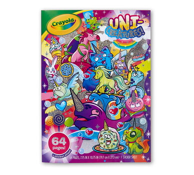 Uni-Creatures! Coloring Book