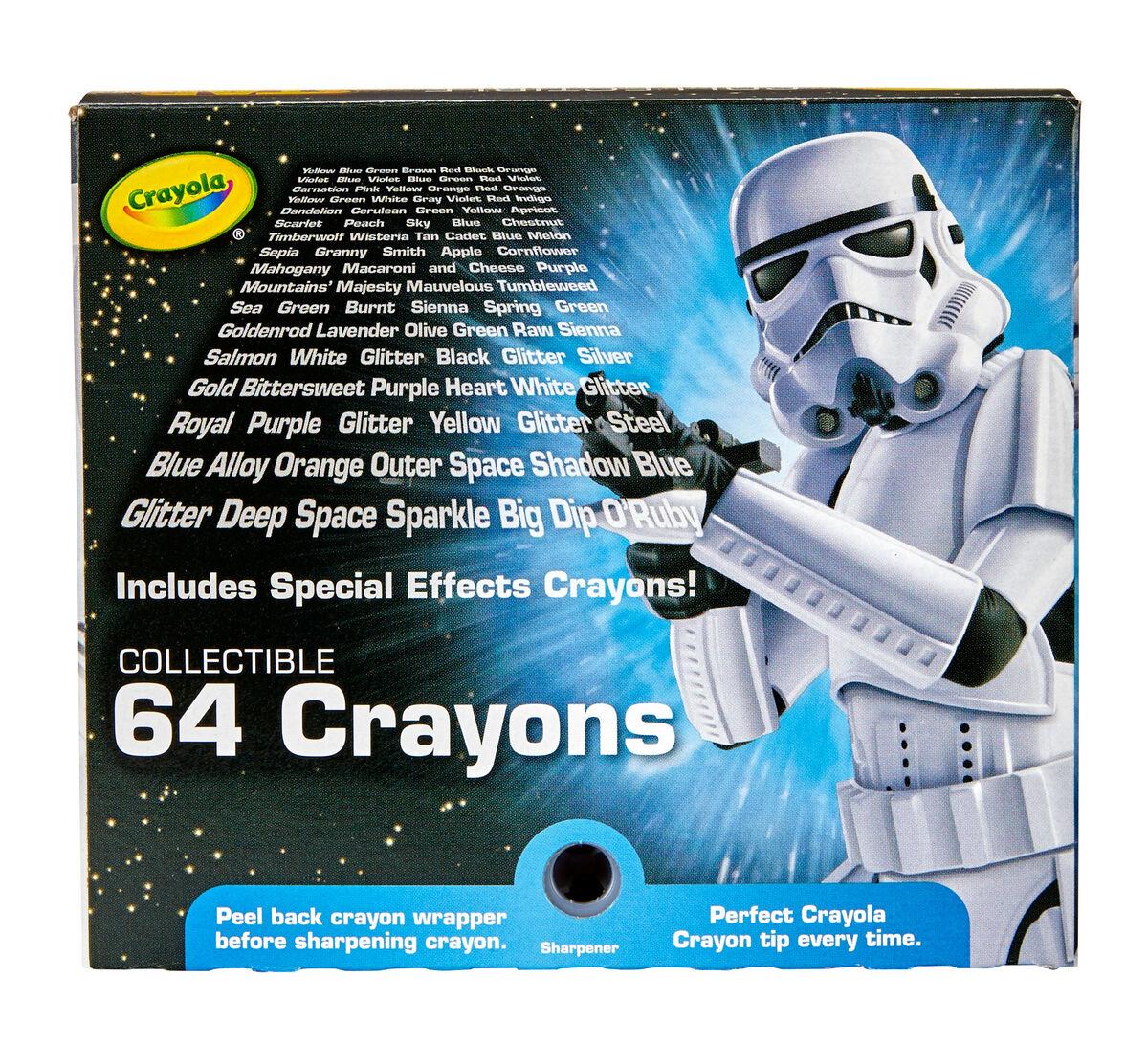 Star Wars, Stormtrooper 64 Count Crayon Box | Crayola