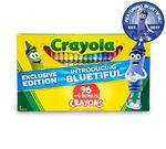 Crayola Crayons 96 ct. plus 4 bonus crayons with Bluetiful