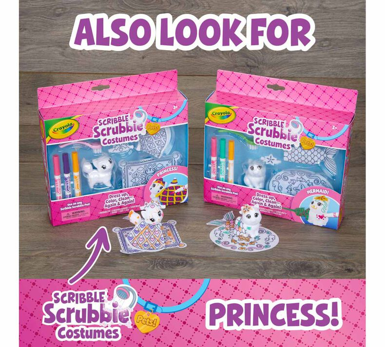 Scribble Scrubbie Pets Mermaid Playset