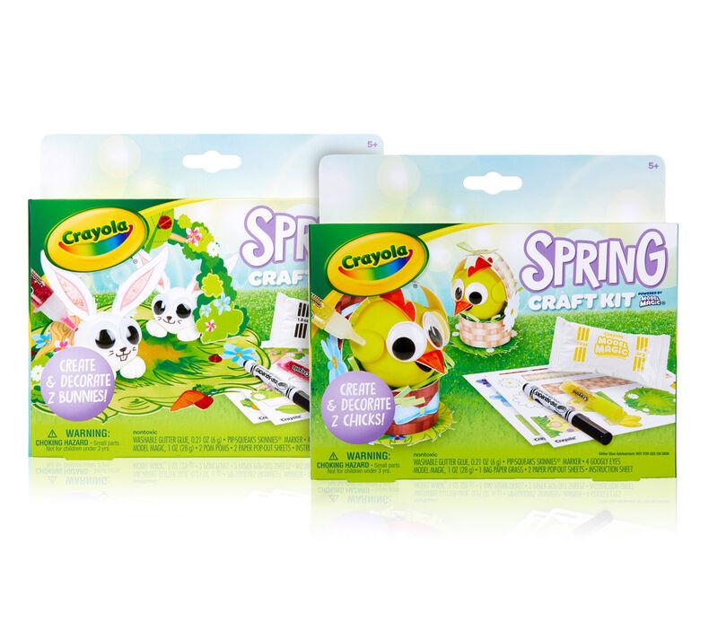 2-in-1 Model Magic Spring Craft Kits