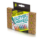 Art With Edge Glitter Markers markers and packaging