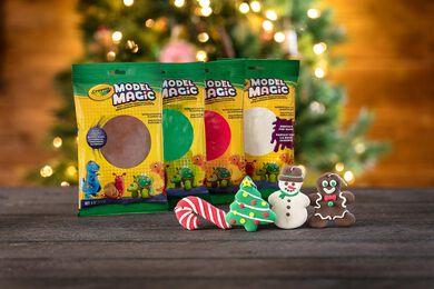 Model Magic Holiday DIY Ornaments Craft Kit