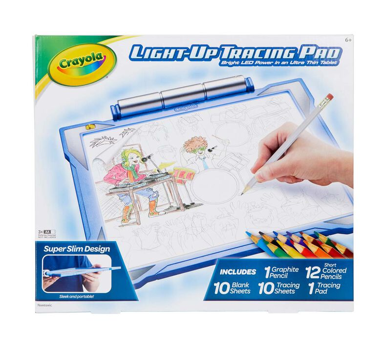 Light Up Tracing Pad, Blue