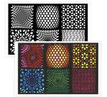 Color Escapes Adult Coloring Kit, Geometric