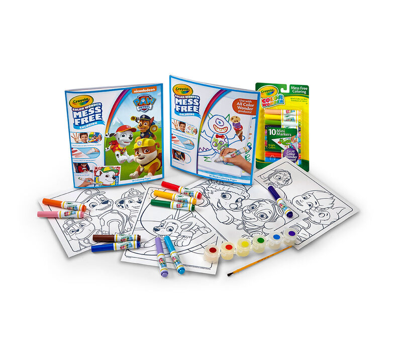 Color Wonder Mess Free Paw Patrol Bundle