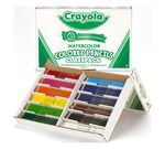 240 Count Watercolor Pencils Classpack, 12 Colors Box Open