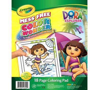 Color Wonder Coloring Pad - Dora the Explorer - Crayola