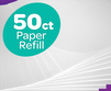 Pack includes 50 paper refills for the Spin and Spiral Art Station