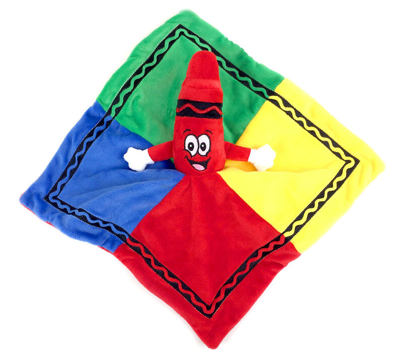 Red Crayon Security Blanket
