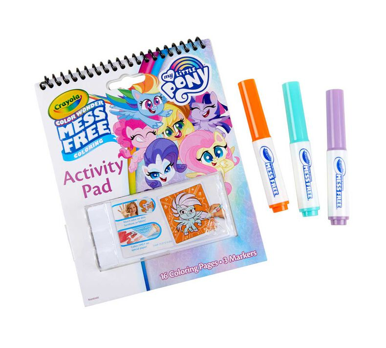 Color Wonder Mess Free My Little Pony Coloring & Activity Pad