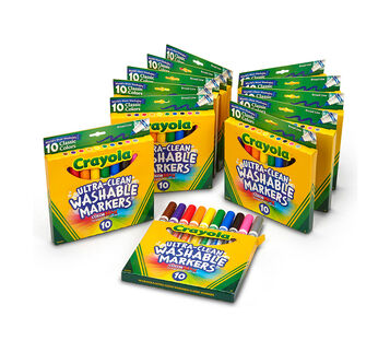 Ultra Clean Washable Markers 12 pack