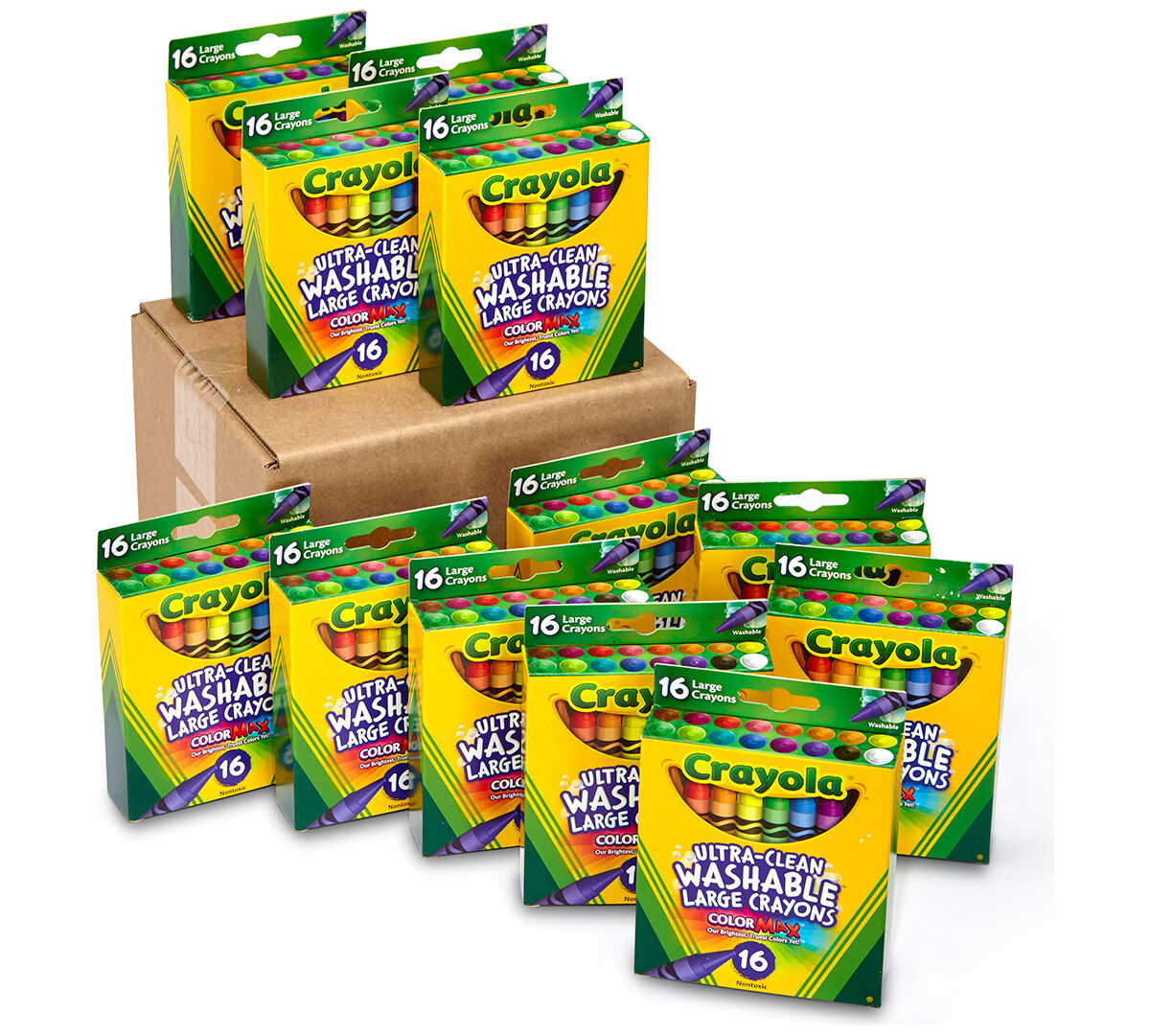 Washable Crayons, 12 Packs of 24 Count | Crayola.com
