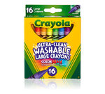 Kid's First Large Washable Crayons 16 ct.