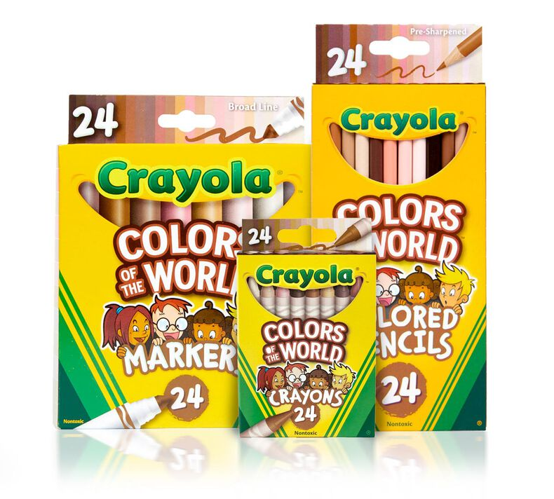 3-in-1 Colors of the World Coloring Set