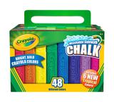 Sidewalk Chalk, 48 Count Front View