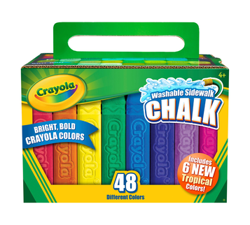 Sidewalk Chalk, 48 Count Front View