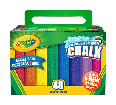 Sidewalk Chalk, 48 Count