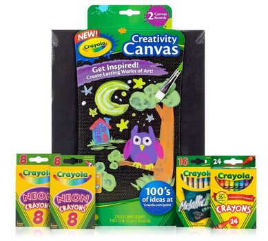 Crayon Melter Refill Kit - Special Effects with Black Canvas Pack