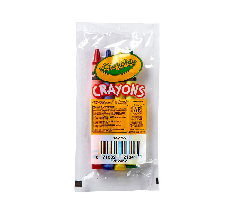 360 Pack Bulk Case of 4 Count Crayons