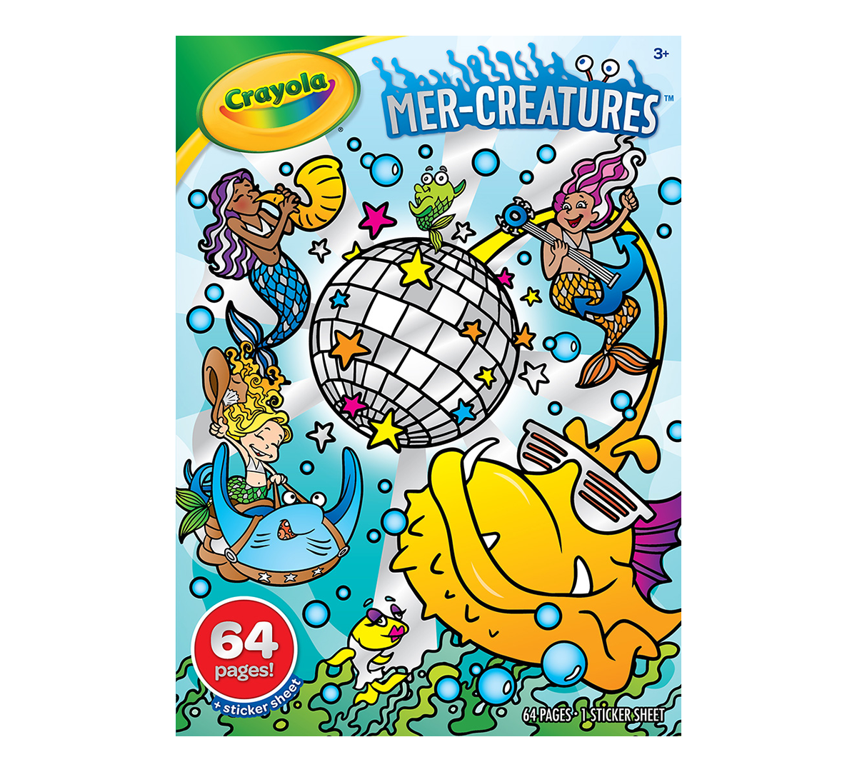 - Mer-Creatures Mermaid Coloring Book For Kids Crayola.com Crayola