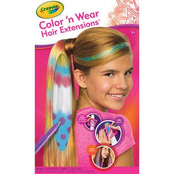hair flair crayola