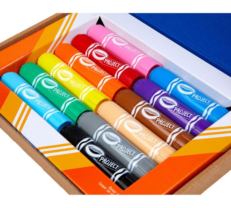 Quick Dry Paint Sticks, 12 Count