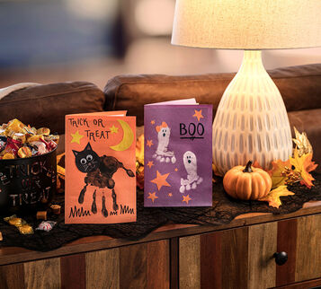 Halloween Cards Craft