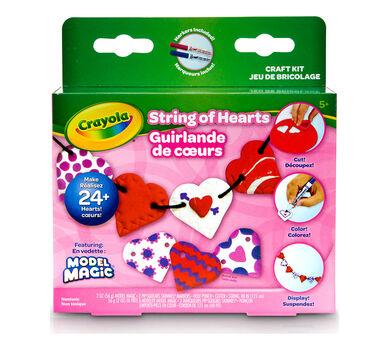 Crayola Model Magic Heartstring Garlands