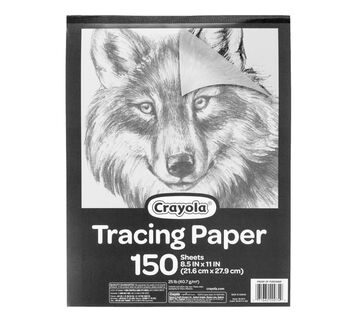 Tracing Paper Pad Front of Pad
