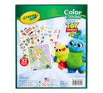 Crayola Toy Story 4 Color & Sticker Book and sticker display