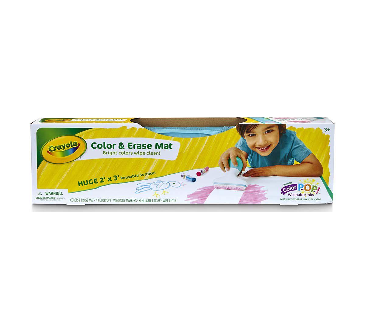 Color Amp Erase Mat Crayola