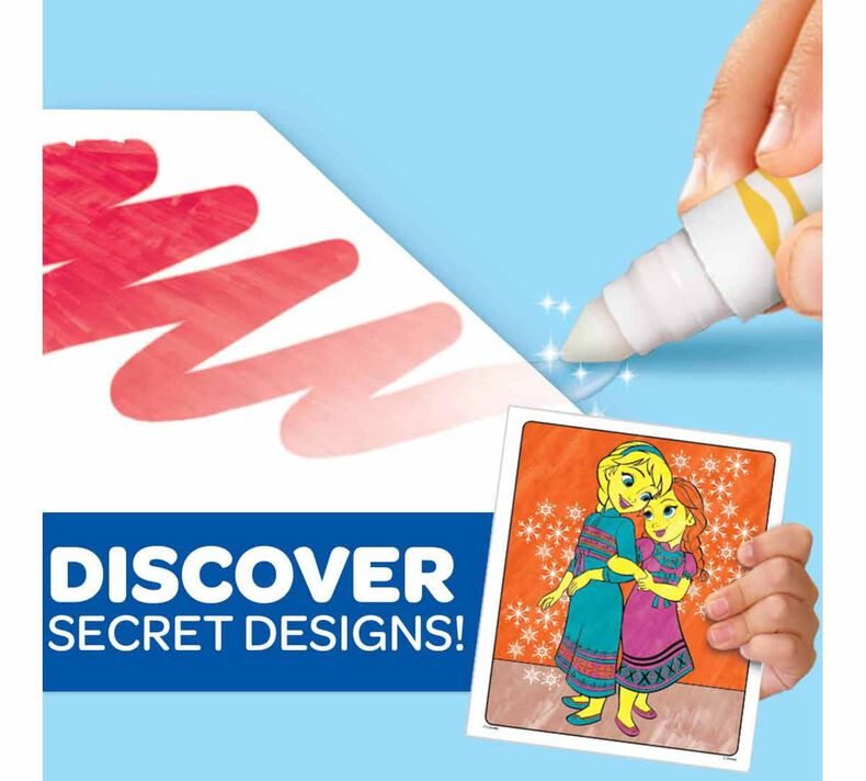Color Wonder Mess Free Frozen 2 Coloring Pages & Markers