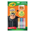Coloring & Activity Pad with Markers, Despicable Me 3