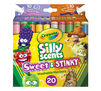 Crayola Silly Scents Sweet & Stinky Scented Markers Front View