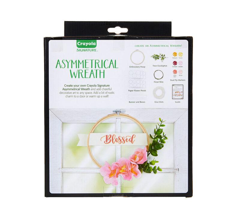 Signature Asymmetrical Wreath Craft Kit