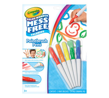 Color Wonder Paintbrush Pens and paper pad package front