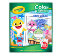 Baby Shark Color and Sticker Book Front View
