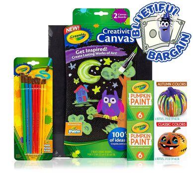 Acrylic Paint Supplies Value Set
