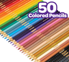 50 Colored Pencils