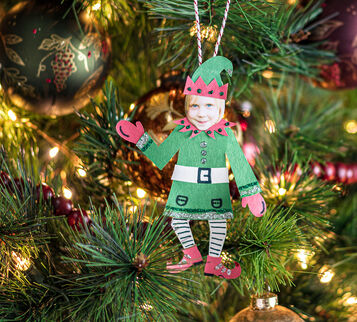 Elf Ornaments Craft Kit Ornament 1