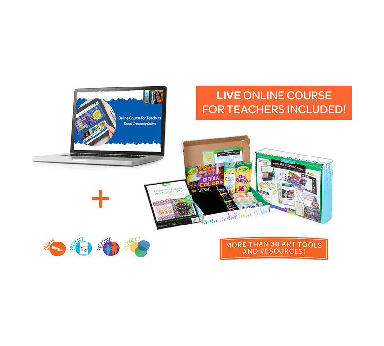 Online Course for Teachers, Teach Creatively Online
