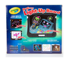 Dry Erase Light Up Board Back View